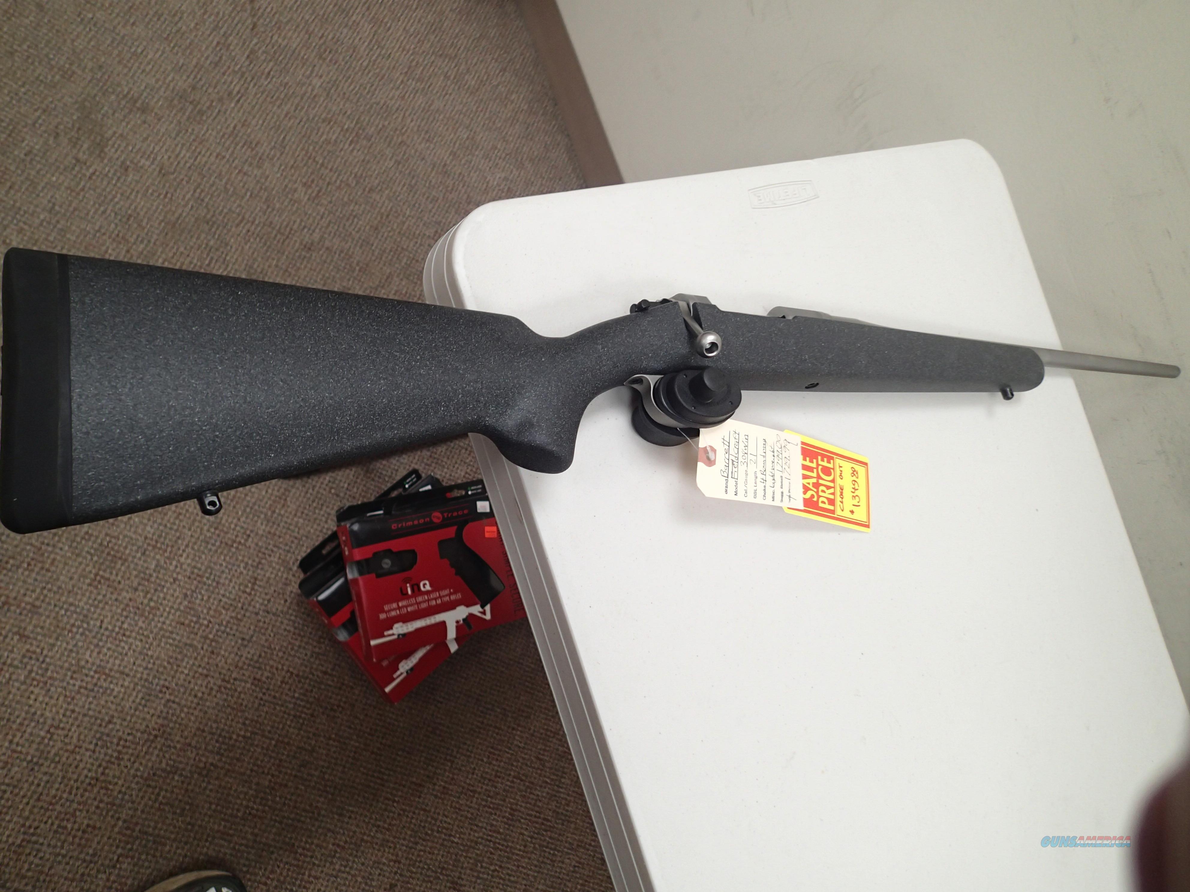 "BARRETT FIELDCRAFT 21"" BARREL 308 WIN CLOSEOUT PRICES  Guns > Rifles > Barrett Rifles"