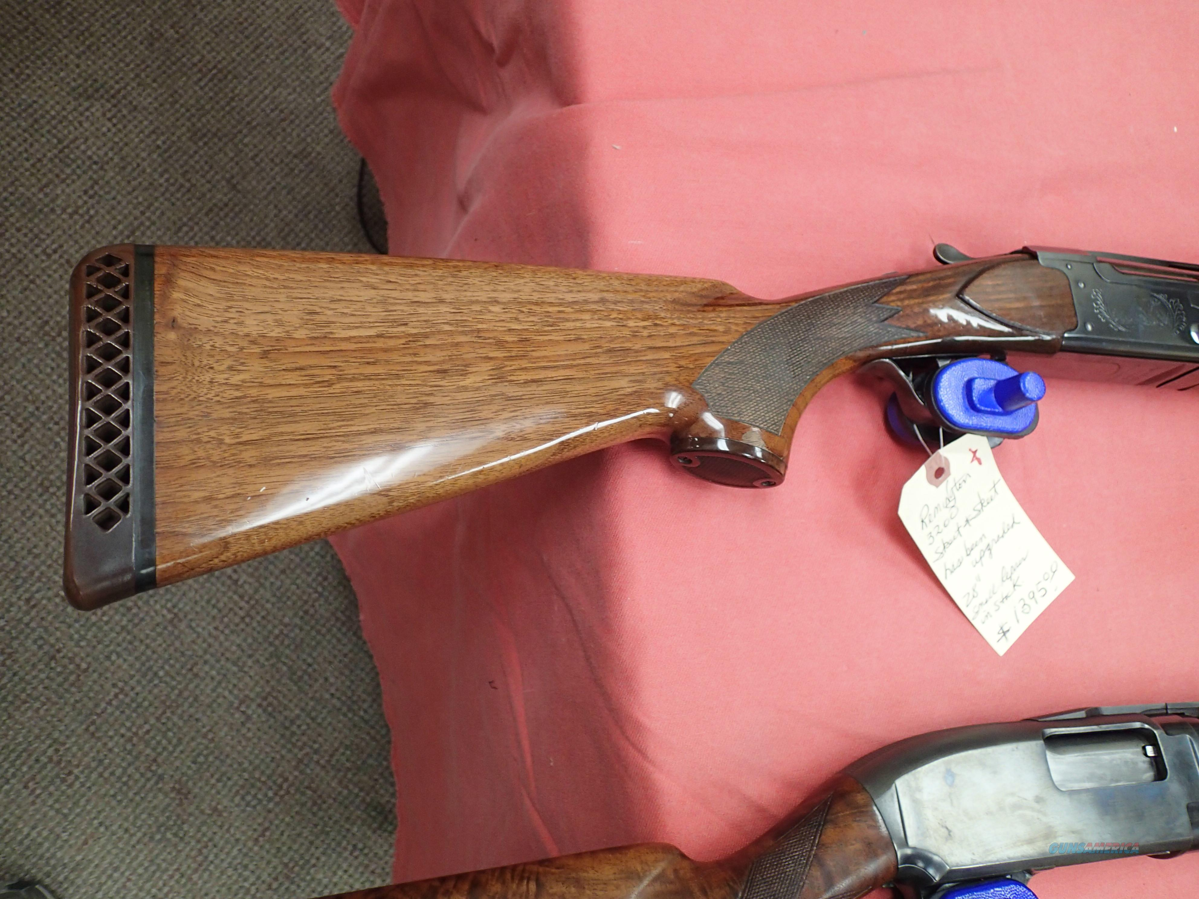 "Remington 3200 SK&SK Skeet Shotgun Upgraded 28""  Guns > Shotguns > Remington Shotguns  > O/U"
