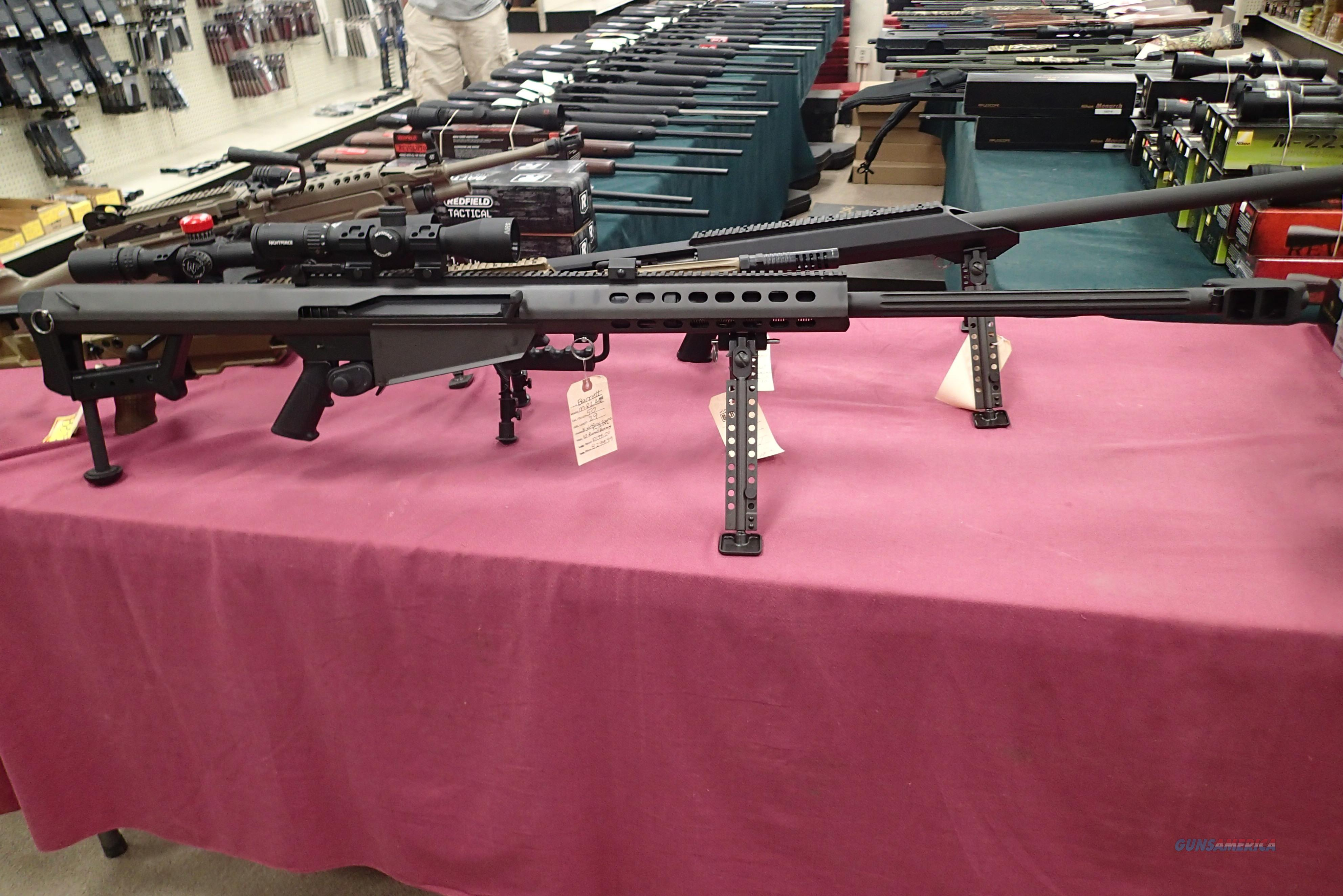 Barrett 82A1 50bmg with Night Force 3x10x42 10rd New in Case  Guns > Rifles > Barrett Rifles