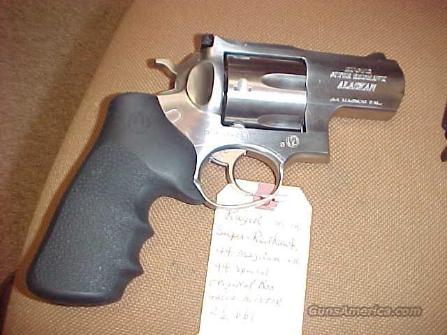 Ruger Alaskan Super Red  Hawk 44Mag   Guns > Pistols > Ruger Double Action Revolver > Redhawk Type