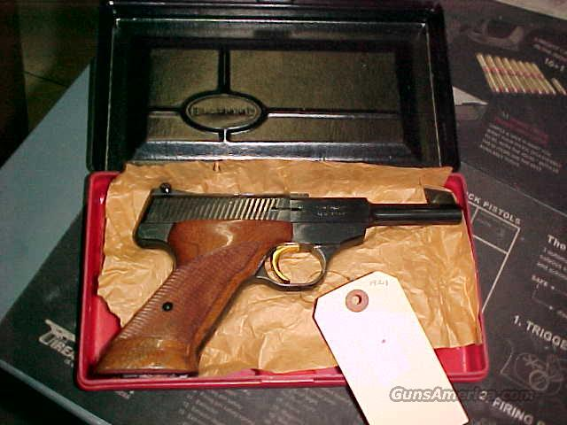 Browning Belgium Challenger 22LR with Red & Black Factory Box 1965  Guns > Pistols > Browning Pistols > Other Autos