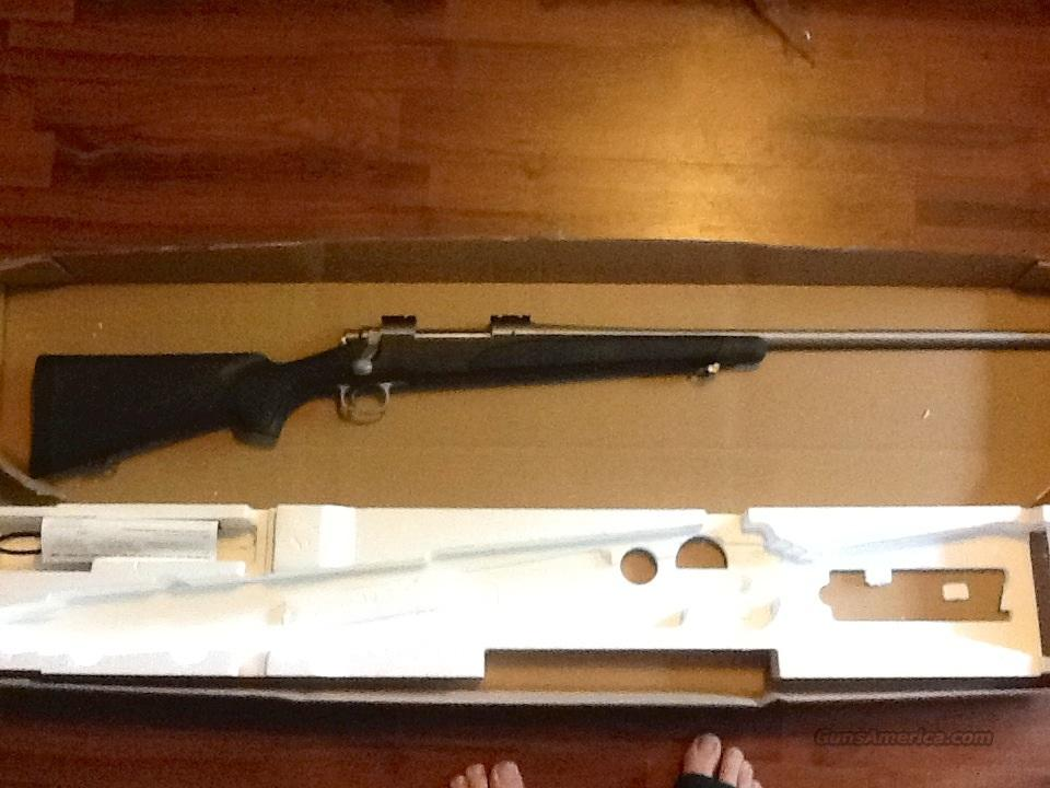 Remington ADL SS barrel, with black synthetic stock and lock with 2 keys  Guns > Rifles > Remington Rifles - Modern > Model 700 > Sporting