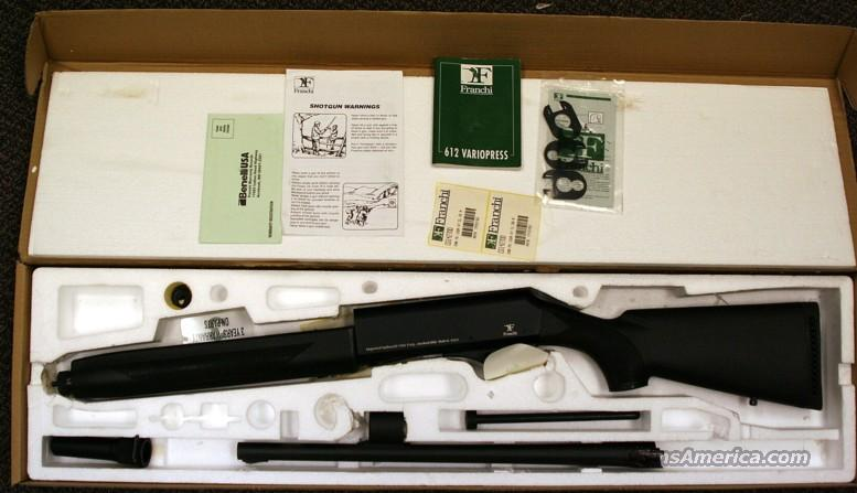 Franchi SPA VS 612 Auto tactical 12 GA shotgun by Benelli  Guns > Shotguns > Benelli Shotguns > Tactical