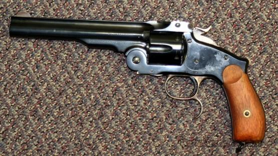 Uberti Smith & Wesson new model Russian .44 Russian Schofield  Guns > Pistols > Uberti Pistols > Ctg.
