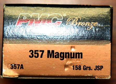 4 boxes PMC Bronze .357 50 per box  Non-Guns > Ammunition