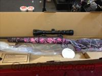 Savage Axis .223 PINK CAMO w/scope  Guns > Rifles > Savage Rifles > Other