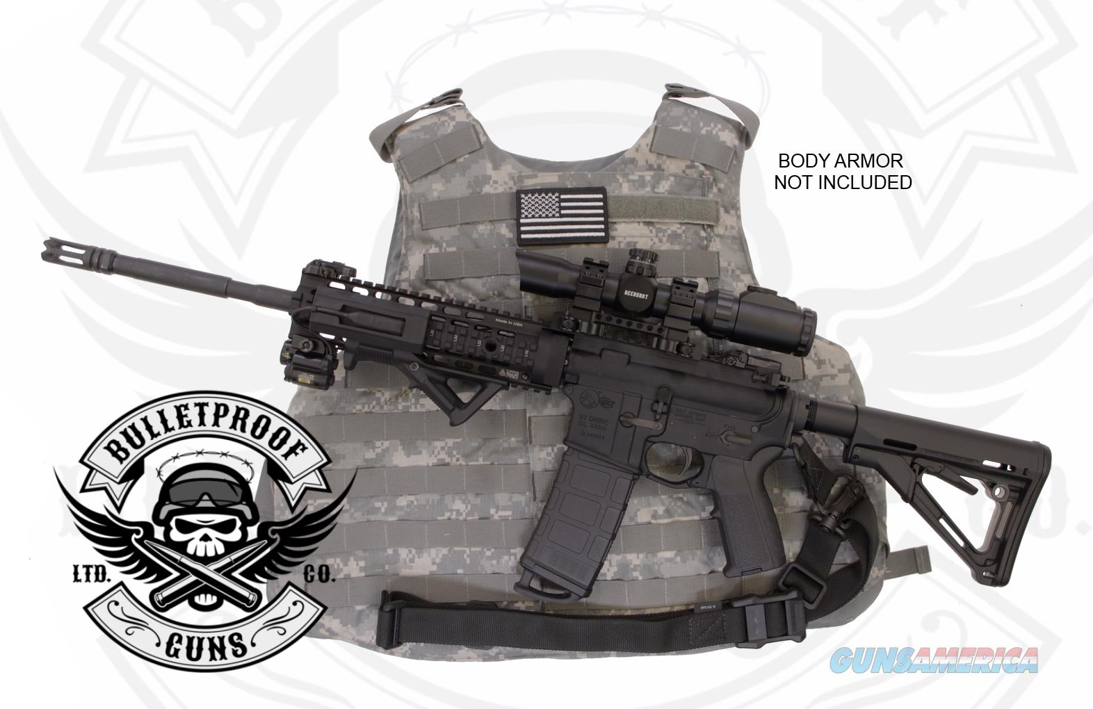 Bulletproof AR15: Colt LE6920 CLAYMORE-6CV  Guns > Rifles > Colt Military/Tactical Rifles