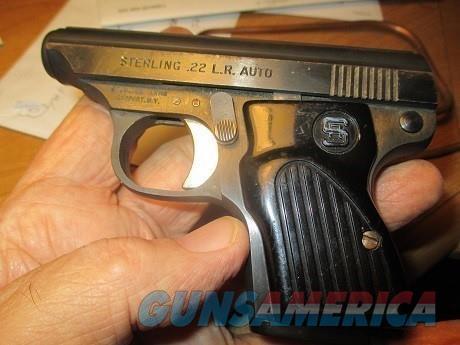 Sterling #302  22LR  Guns > Pistols > S Misc Pistols
