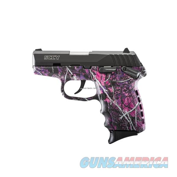 SCCY CPX-1-CBMG Semi Auto Pistol 9mm Black Nitride 2-10Rnd Mag Double Sided Safety Muddy Girl Grip   Guns > Pistols > SCCY Pistols > CPX1