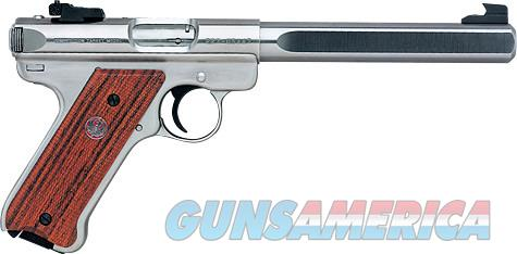 RUGER MKIII GOV COMPITITION SLAB SIDE .22  Guns > Pistols > Ruger Semi-Auto Pistols > Mark I/II/III Family