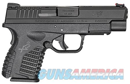 "Springfield Armory XDS94045BE XD-S Single Stack Double 45 Automatic Colt Pistol (ACP) 4"" 5+1/6+1 Black Polymer Grip/Frame Grip Black Melonite  Guns > Pistols > Springfield Armory Pistols > XD-S"