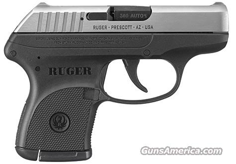 "Ruger KLCP 380ACP 2.75"" Black Grip/Stainless Slide 6+1   Guns > Pistols > Ruger Semi-Auto Pistols > LCP"