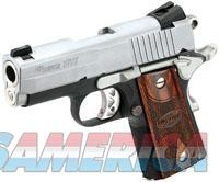 Sig Sauer 1911 .45ACP Ultra Compact 2 Tone Slite  Guns > Pistols > Sig - Sauer/Sigarms Pistols > 1911