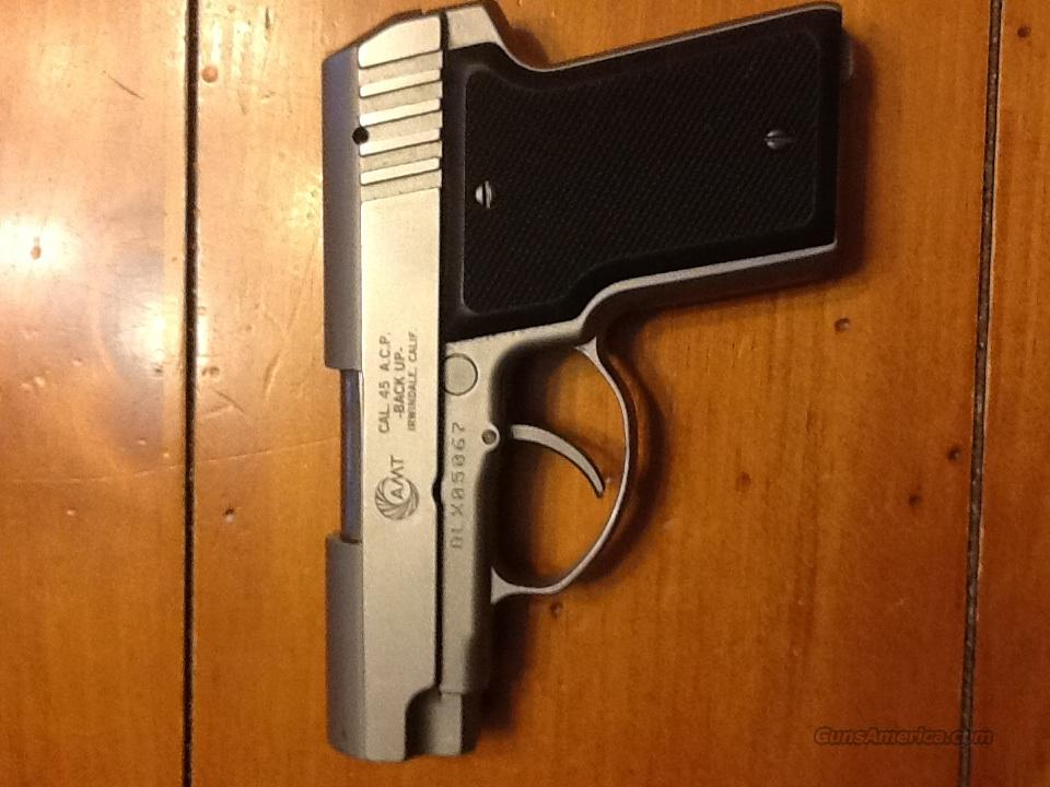 AMT BACK UP STAINLESS 45 ACP   Guns > Pistols > AMT Pistols > Other