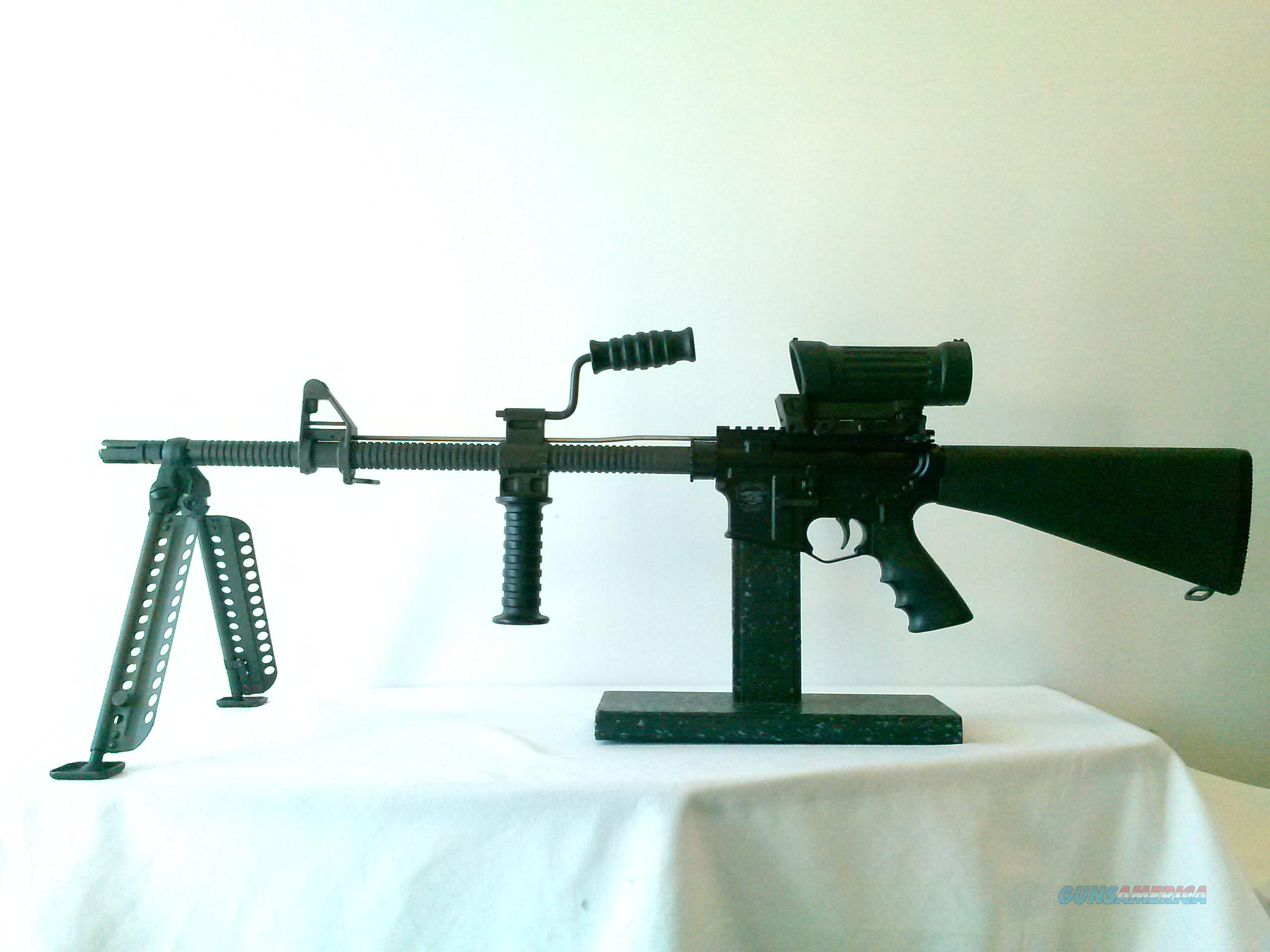 "AR15 Semi Auto 20"" Finned HBAR Barrel Squad Gun.  Guns > Rifles > AR-15 Rifles - Small Manufacturers > Complete Rifle"