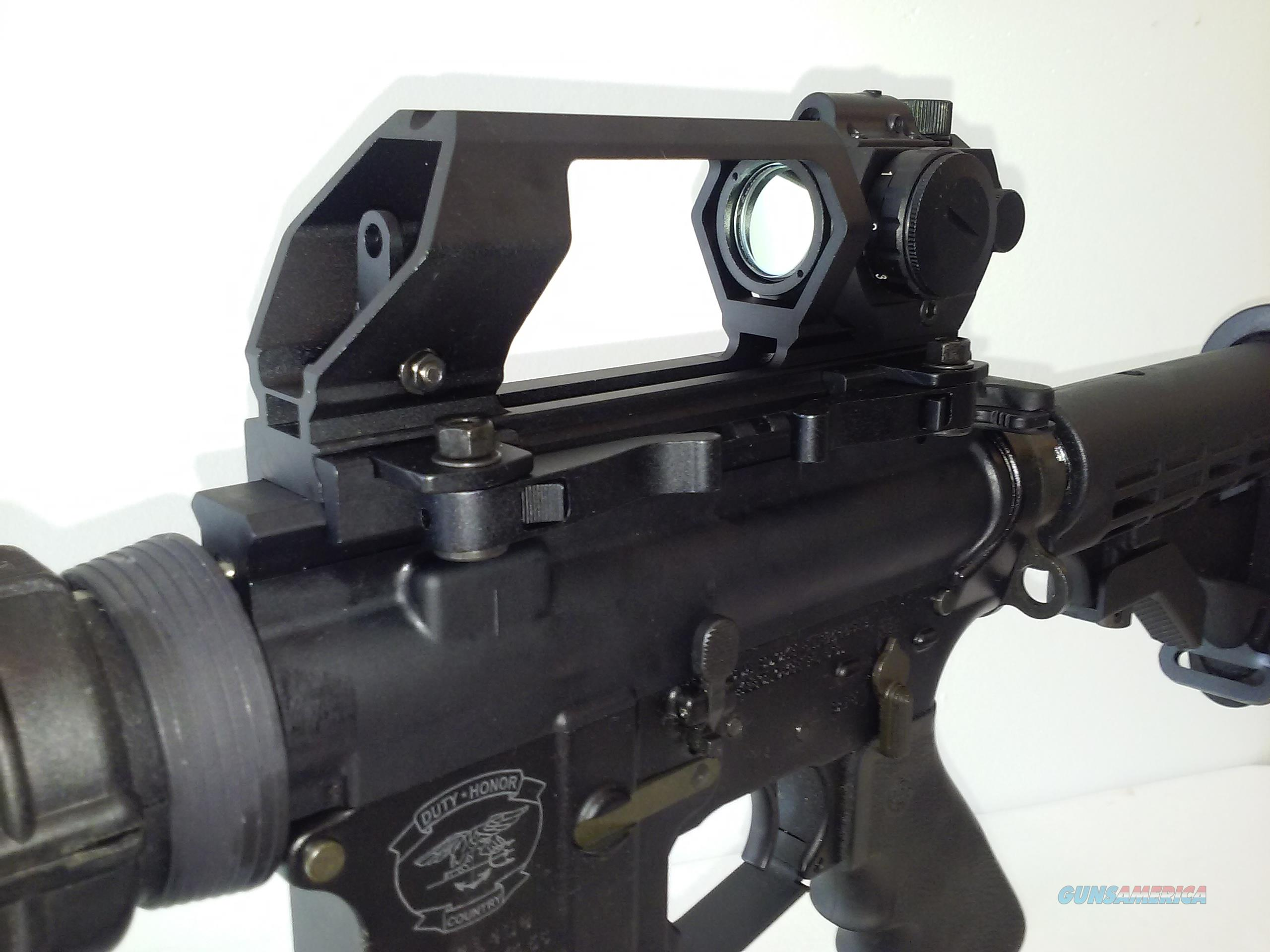 NC/STAR AR15 Carry handle w/ green dot sight and red laser.  Non-Guns > Gun Parts > M16-AR15 > Upper Only