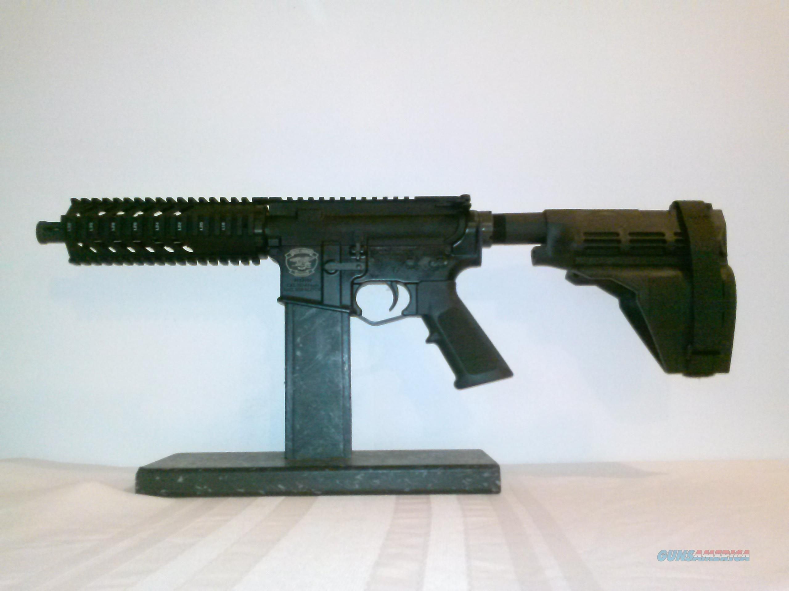 AR15 7.62x39 Pistol kit w/ Sig arm brace.  Non-Guns > Gun Parts > M16-AR15 > Upper Only