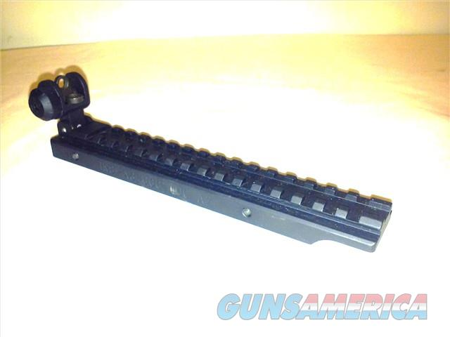 GG&G IRS A3 AR15 scope rail w/ rear flip up sight.  Non-Guns > Iron/Metal/Peep Sights
