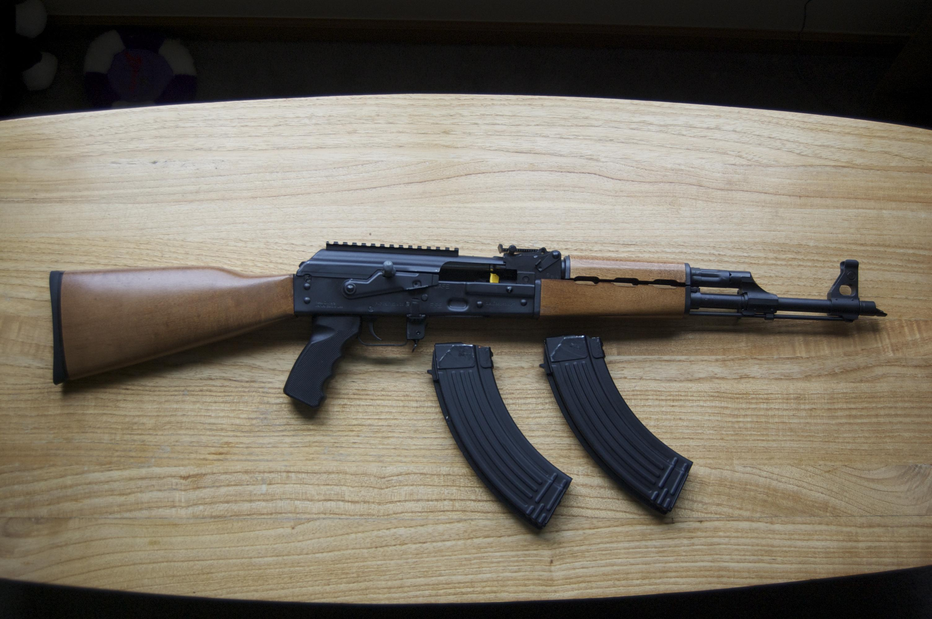 Zastava M70 7.62x39 with two metal hi cap 30 round magazines  Guns > Rifles > AK-47 Rifles (and copies) > Full Stock