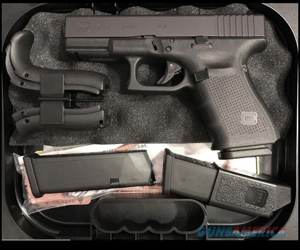 GLOCK 19C Gen 4 LIKE NEW CAN EASILY PASS AS BEING NEW  Guns > Pistols > Glock Pistols > 19