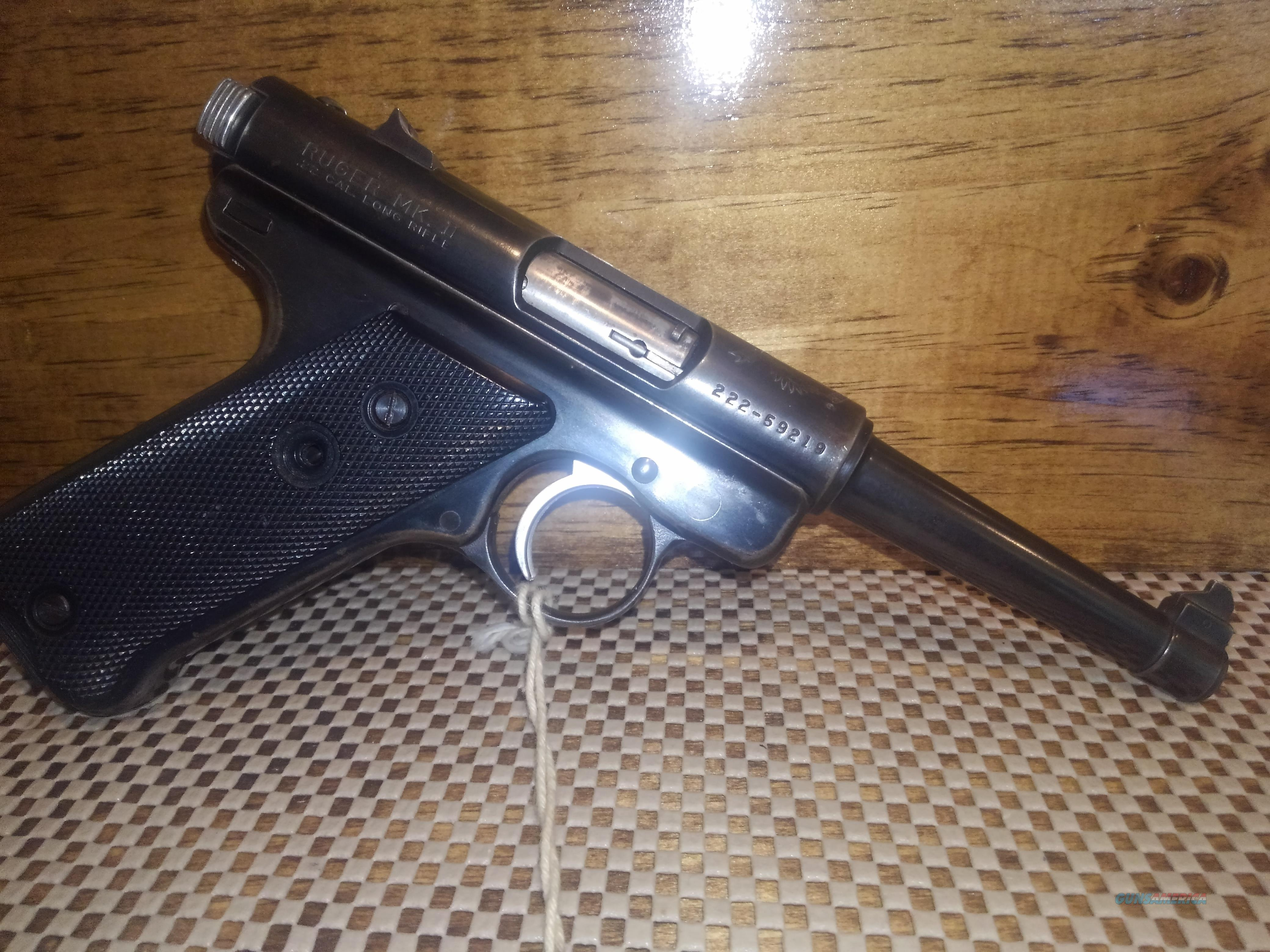 RUGER MKII 50TH ANNIVERSARY, FREE SHIPPING NO CC FEE  Guns > Pistols > Ruger Semi-Auto Pistols > Mark I/II/III/IV Family