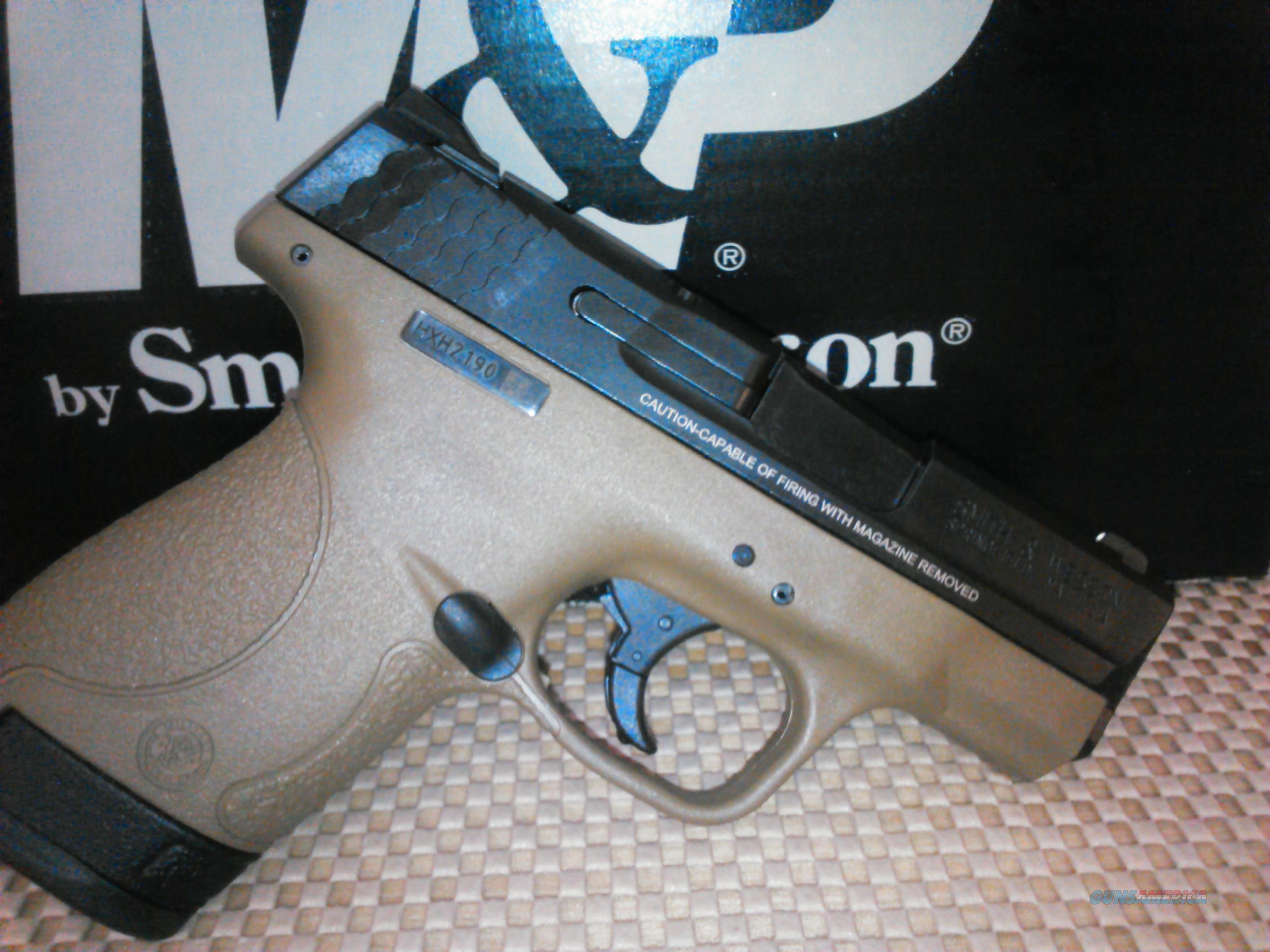 NEW SMITH&WESSON M&P SHIELD 9MM FDE 2MAGS, FREE SHIPPING NO CC FEE (glock, beretta, sig)  Guns > Pistols > Smith & Wesson Pistols - Autos > Shield