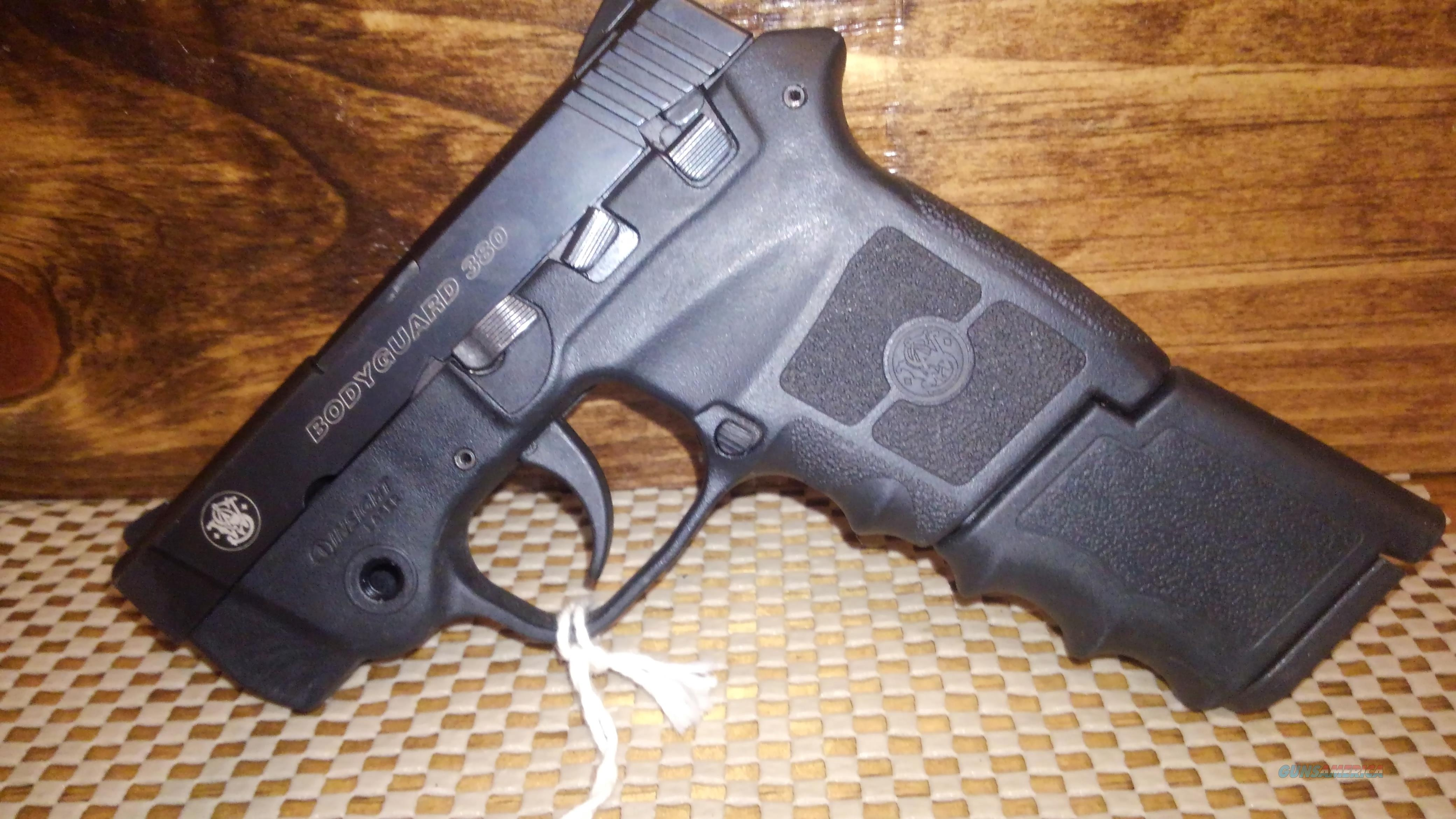 SMITH&WESSON BODYGUARD BG380 WITH LASER, FREE SHIPPING NO CC FEE  Guns > Pistols > Smith & Wesson Pistols - Autos > Polymer Frame