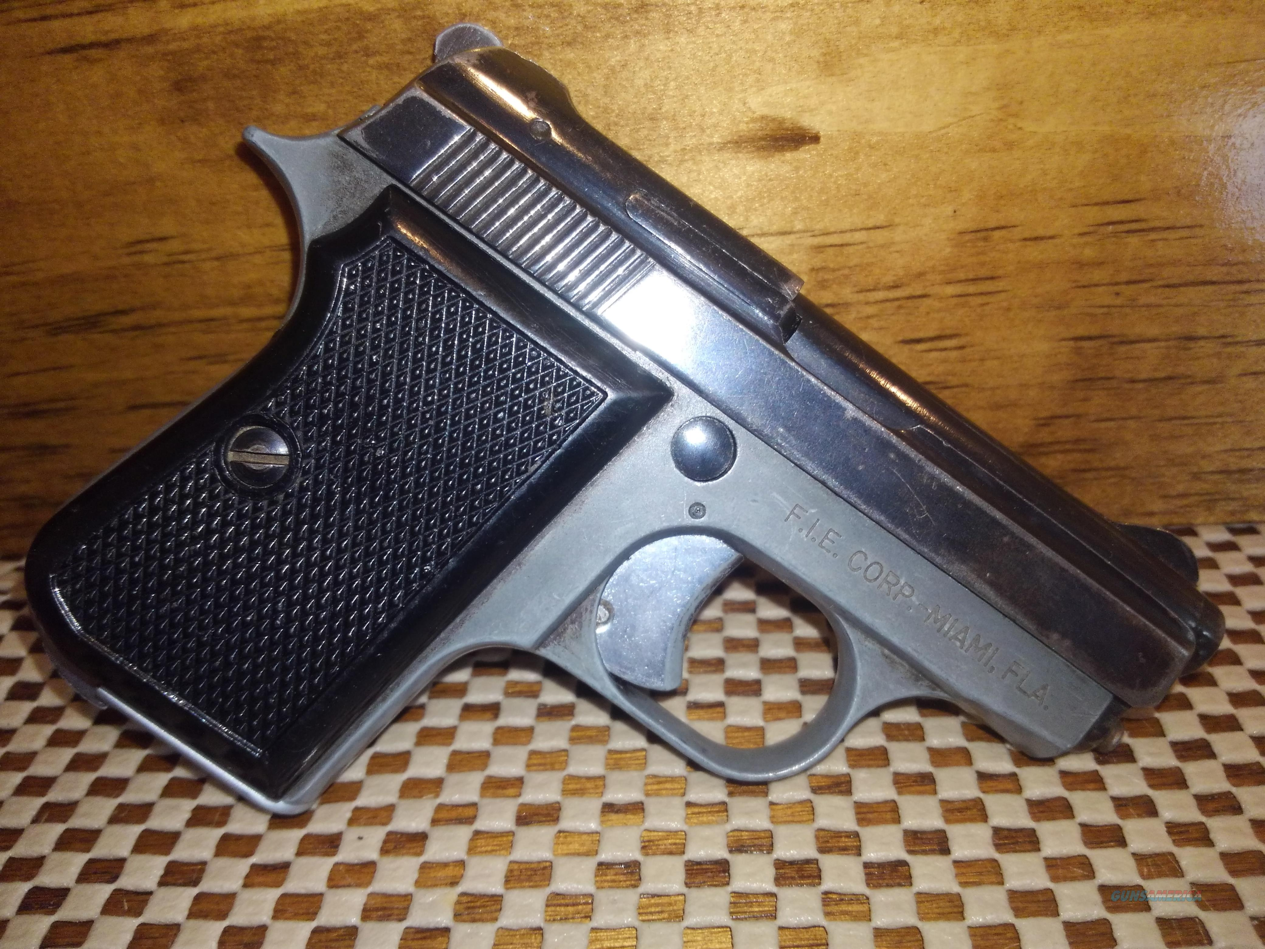 FIE TITAN 25ACP SAO 1-6RD MAG, FREE SHIPPING NO CC FEE  Guns > Pistols > FIE Pistols