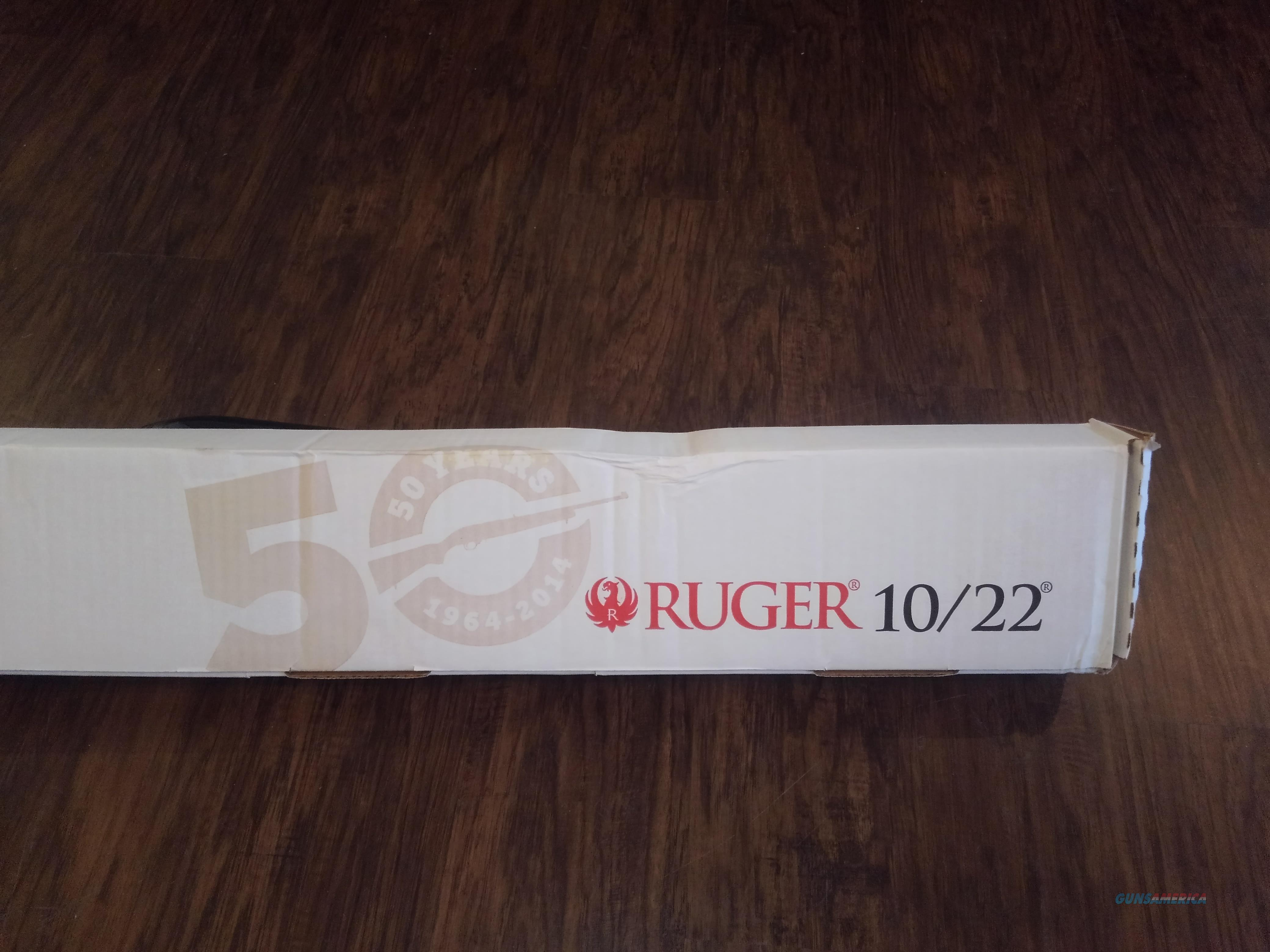 RUGER 10/22 50th ANNIVERSARY NIB KRYPTEK TYPHON, FREE SHIPPING NO CC FEE  Guns > Rifles > Ruger Rifles > 10-22