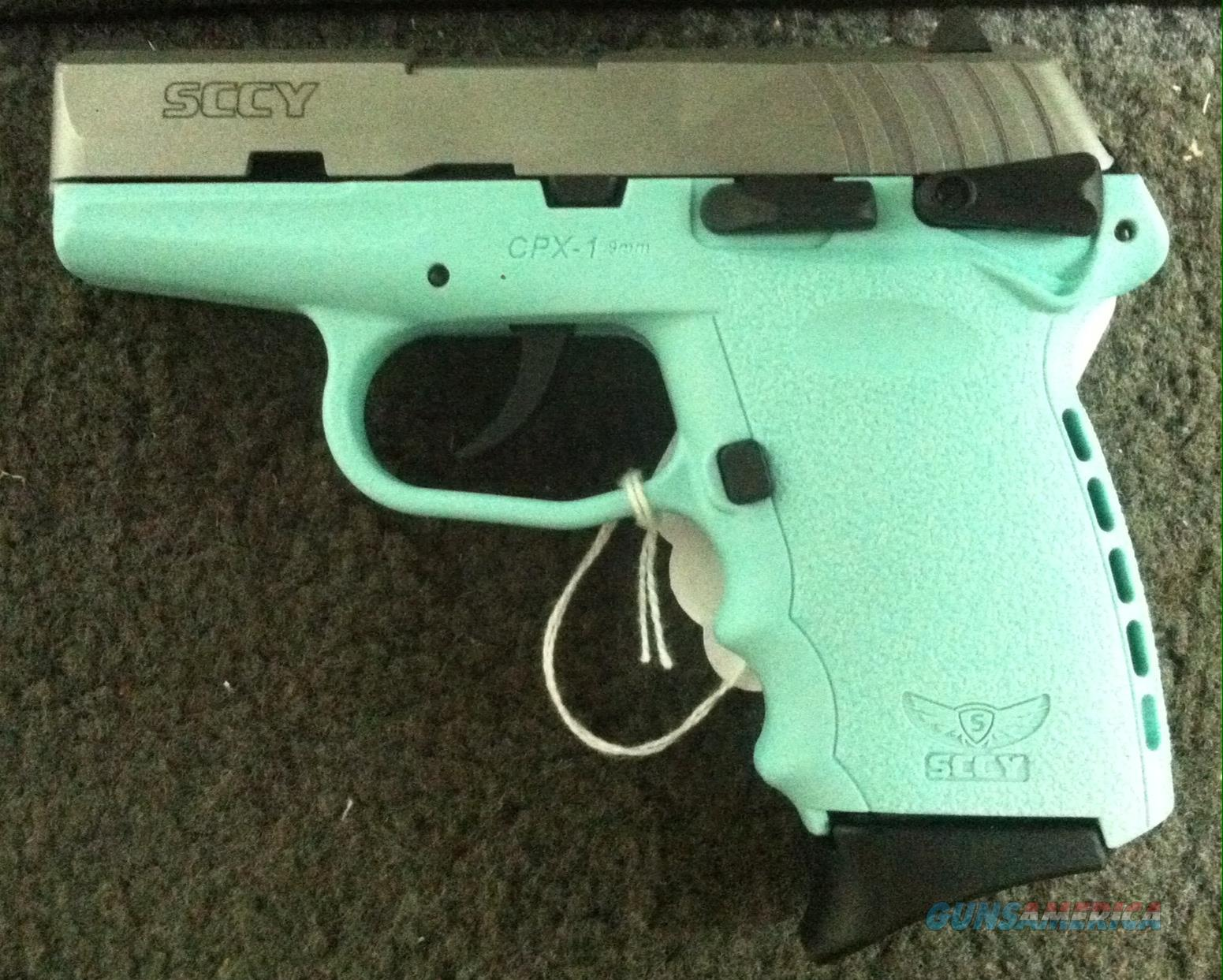 SCCY SEA FOAM 9MM LUGER CPX-1 CPX1