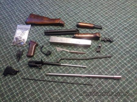 Russian AK Parts Kit, Green Mountain Barrel, and 80% receiver  Guns > Rifles > AK-47 Rifles (and copies) > Full Stock