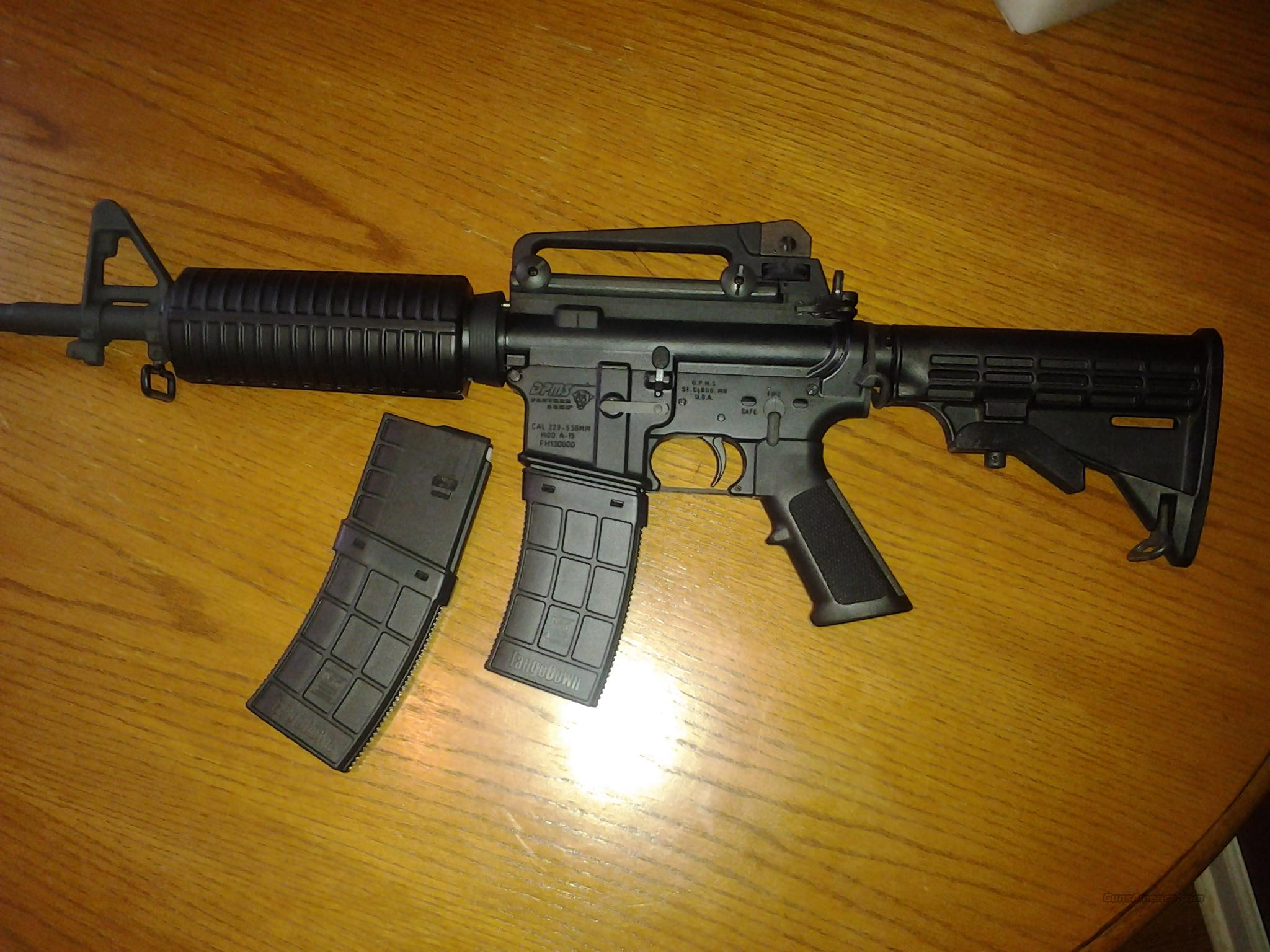 DPMS AP4 with Upgrades  Guns > Rifles > DPMS - Panther Arms > Complete Rifle