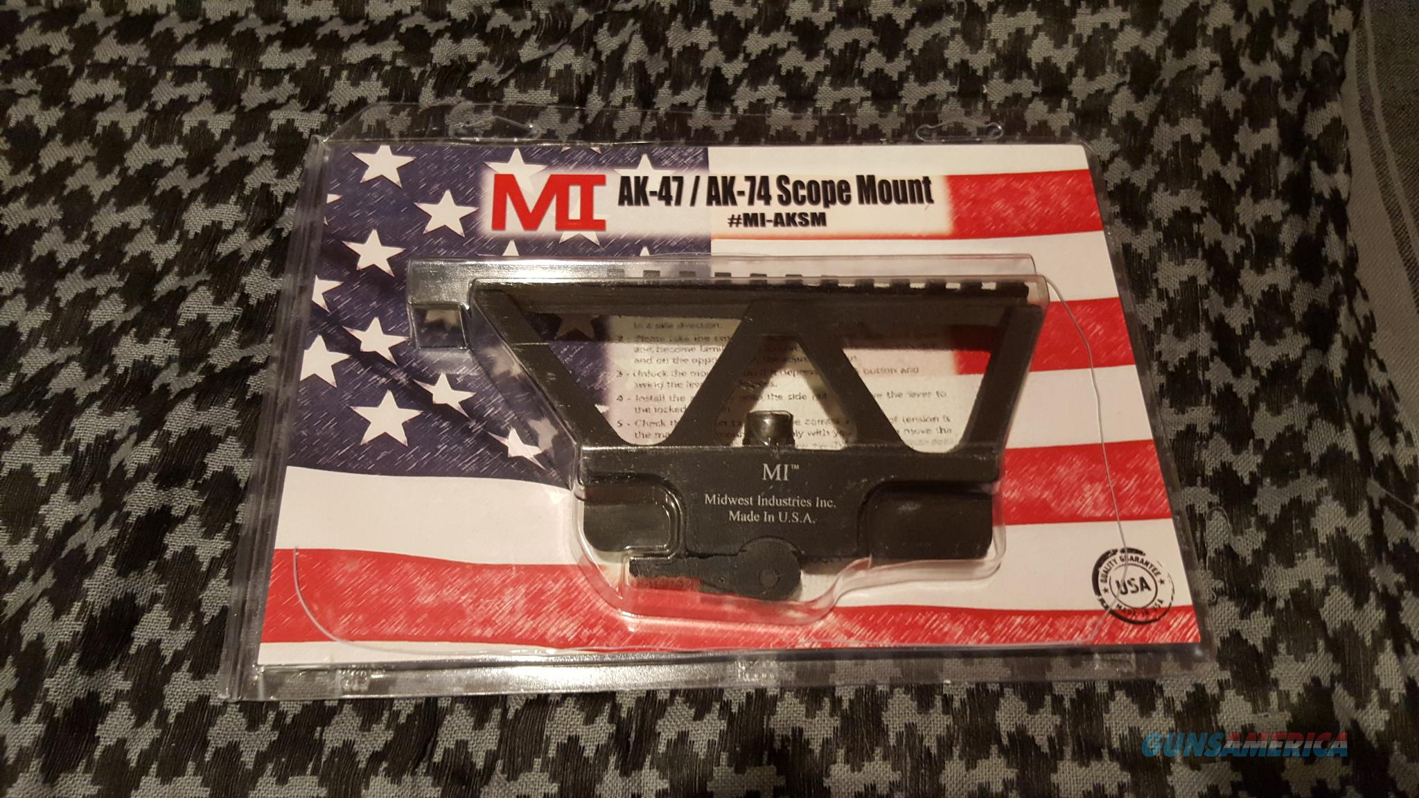 Midwest Industries AK47 Side Rail Scope Mount  Non-Guns > Scopes/Mounts/Rings & Optics > Mounts > Tactical Rail Mounted
