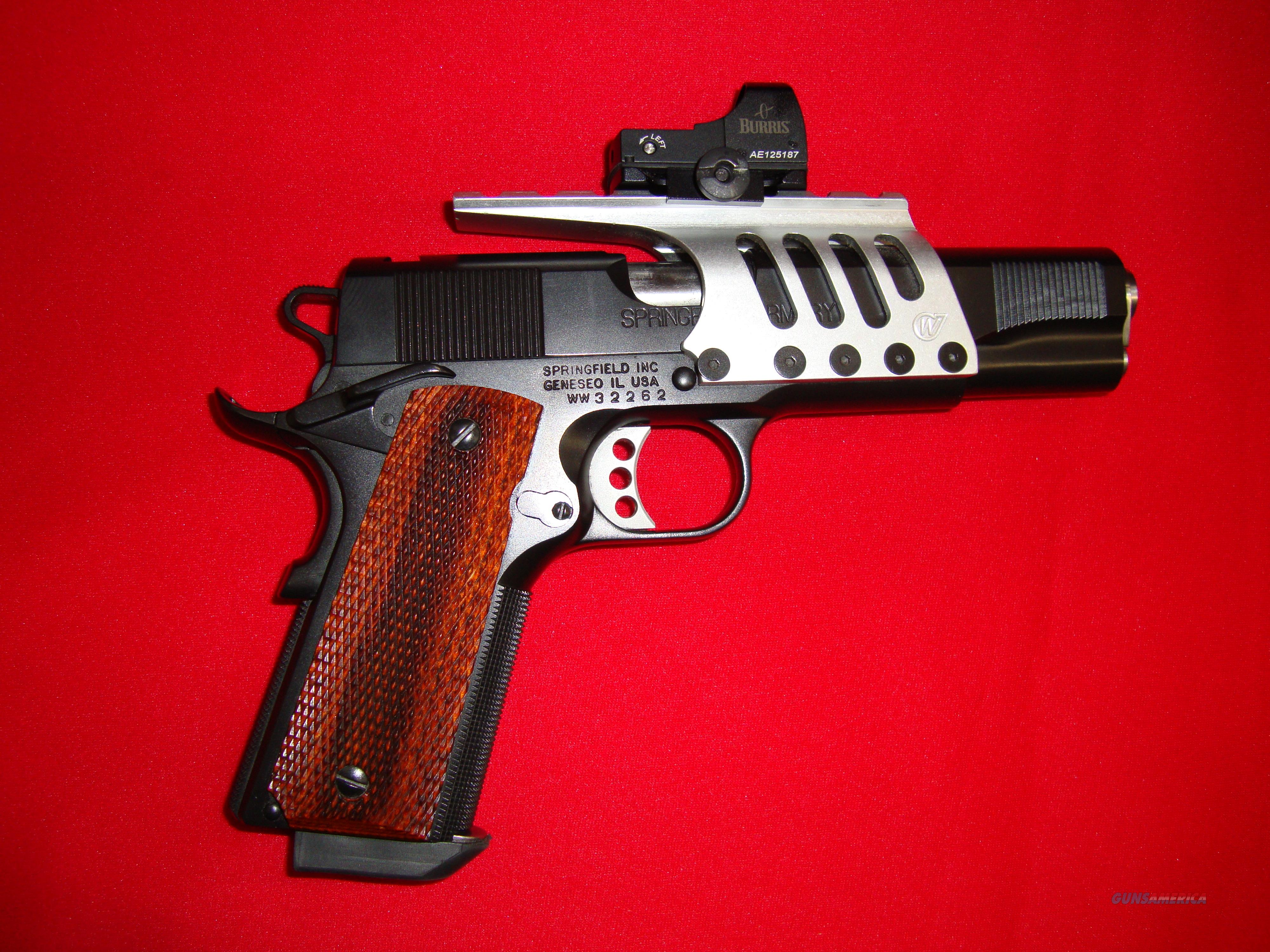 Springfield 1911 45ACP (Full Factory Modifications - ONE ONLY)  Guns > Pistols > Springfield Armory Pistols > 1911 Type