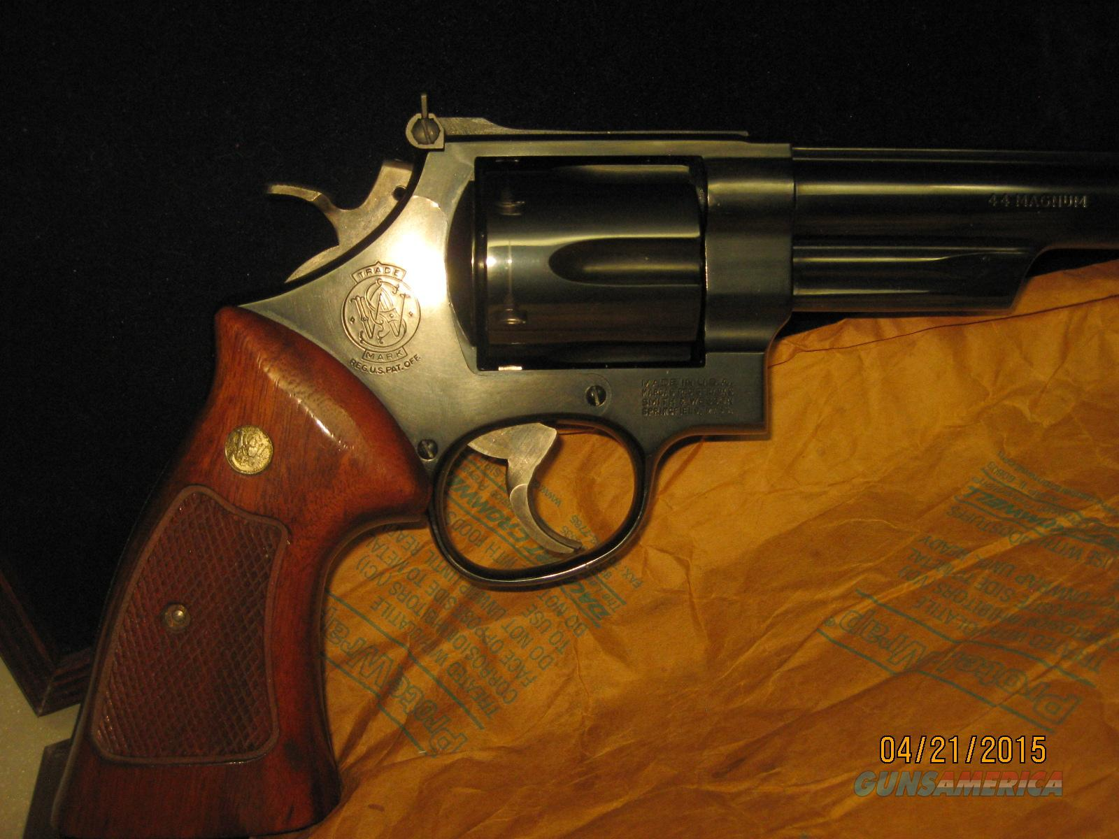 Smith and Wesson 44 Mag. Silhouette   Guns > Pistols > Smith & Wesson Revolvers > Full Frame Revolver