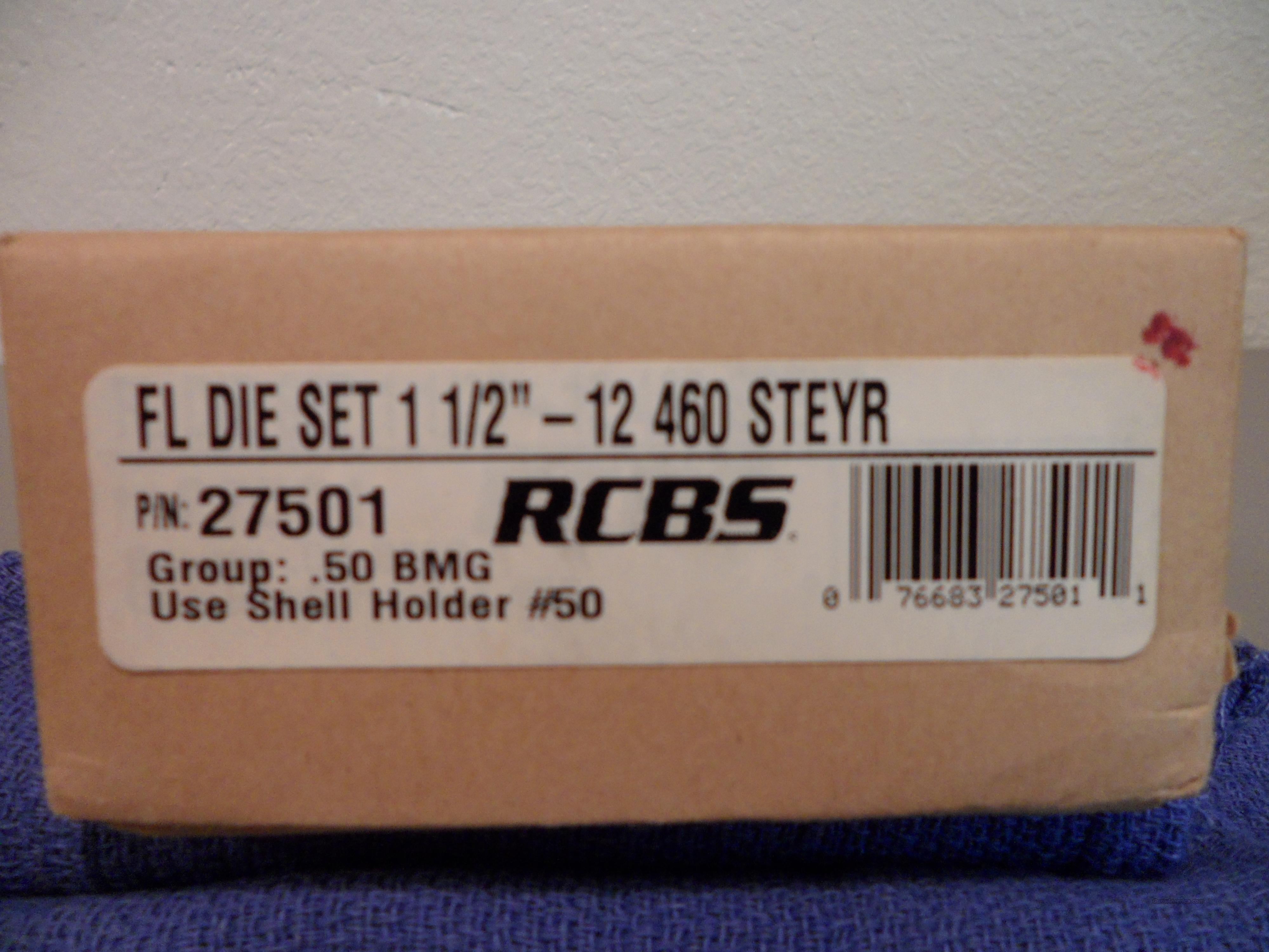 RCBS 2-Die Set 460 STEYR  Non-Guns > Reloading > Equipment > Metallic > Dies
