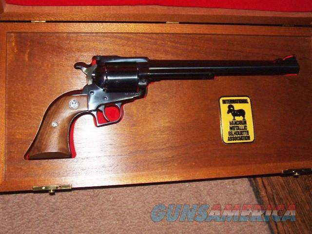 IHMSA RUGER SUPER BLACKHAWK 1 of 500 44MAG 10.5 NEW IN THE CASE WITH ALL BOXES   Guns > Pistols > Ruger Single Action Revolvers > Blackhawk Type