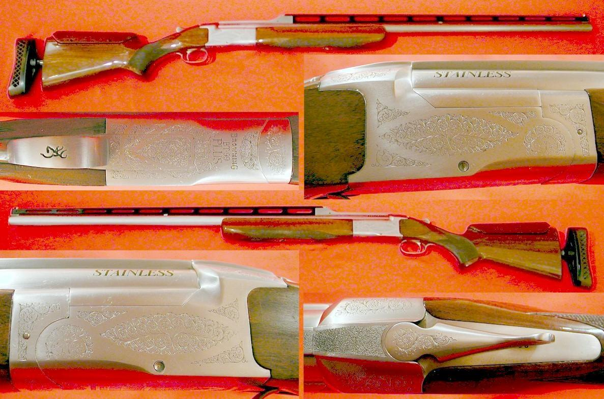 Browning BT-99 Plus Trap Stainless  Guns > Shotguns > Browning Shotguns > Single Barrel