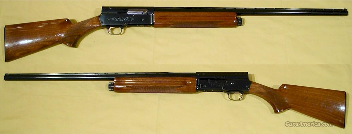 "BROWNING AUTO 5, ""LIGHT TWELVE"", 12 GA.  Guns > Shotguns > Browning Shotguns > Autoloaders > Hunting"