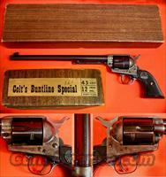 COLT S.A. BUNTLINE, 45 COLT CAL.  Colt Single Action Revolvers - 2nd Gen.