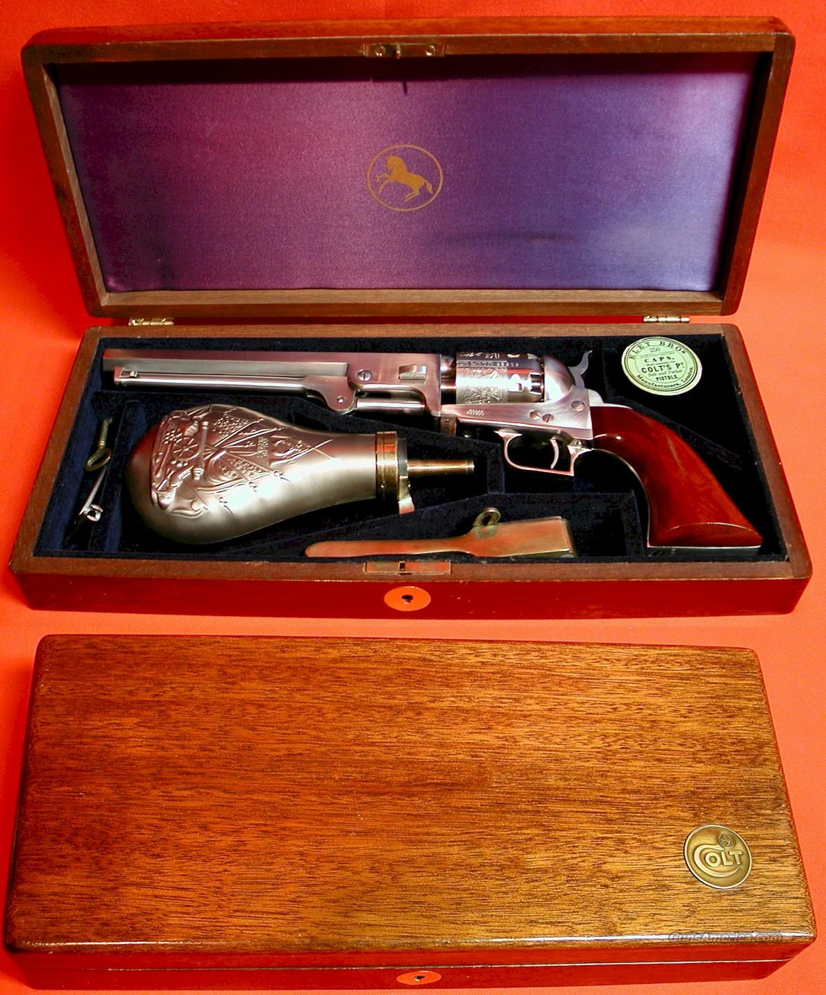 COLT 1851 NAVY STAINLESS (SCARCE)  Guns > Pistols > Colt Percussion Revolver - Modern
