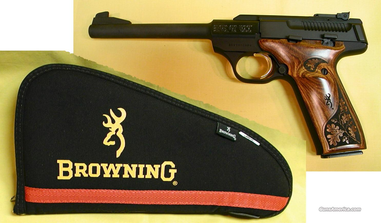 BROWNING LIMITED BUCK MARK CHALLENGER, 22 L.R. CAL.  Guns > Pistols > Browning Pistols > Buckmark