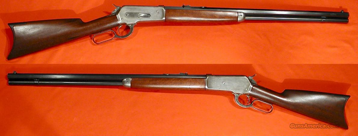 WINCHESTER 1886 LEVER ACTION HAMMER REPEATER  Guns > Rifles > Winchester Rifles - Pre-1899 Lever