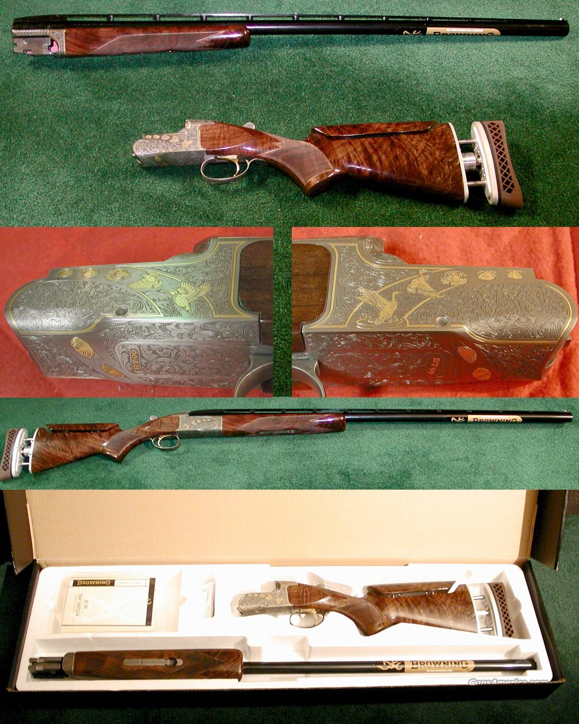 BROWNING BT-99 GOLDEN CLAYS  Guns > Shotguns > Browning Shotguns > Single Barrel