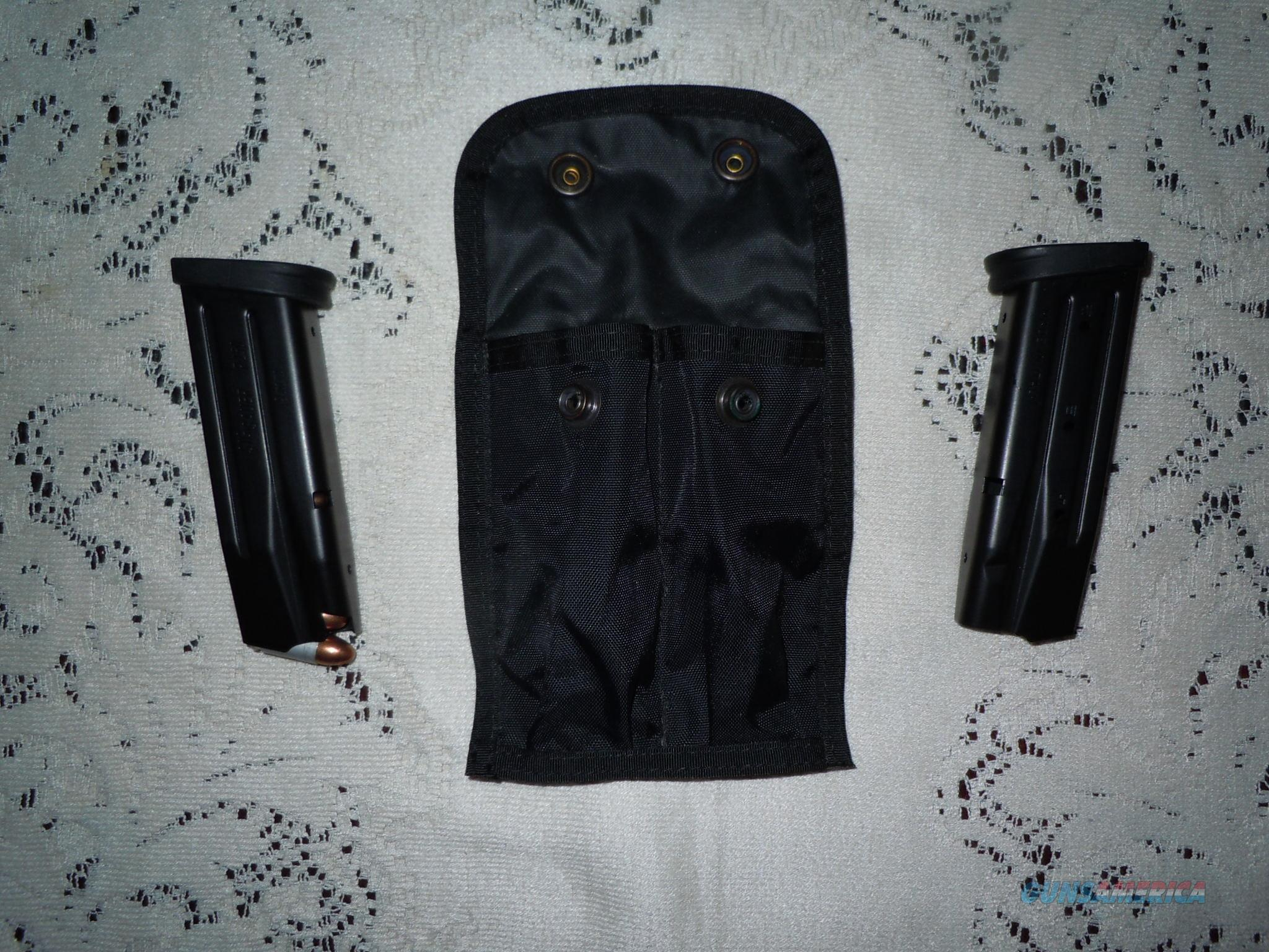 Sig Sauer 9mm P250 16 rnd magazines (2)  9mm mags (2) Sig P250 mags 16 round clips    Non-Guns > Magazines & Clips > Pistol Magazines > Sig