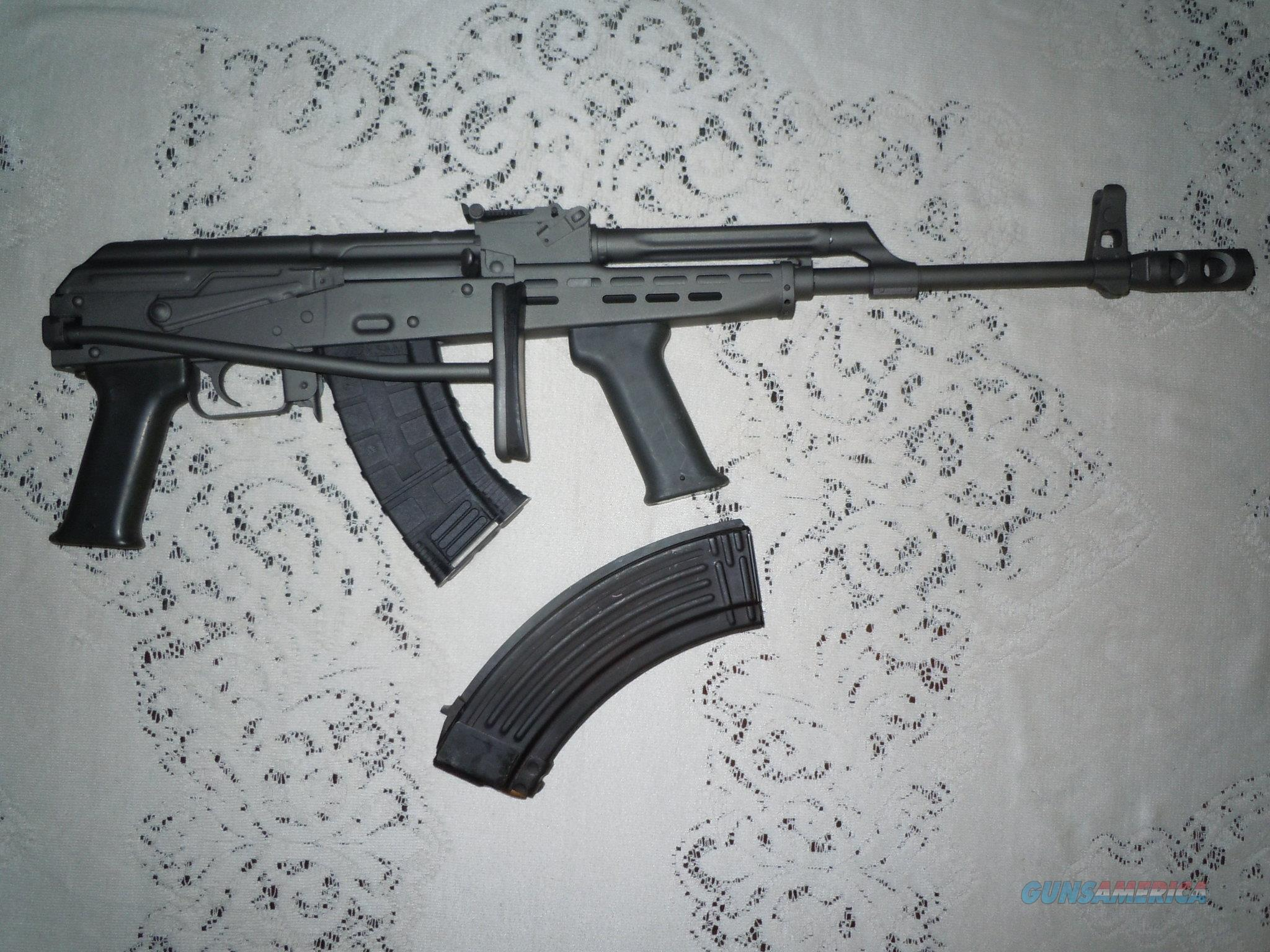AMD-65 Hungarian AK-47 variant type 65 Semi-auto rifle 7.62X39 mm 6 high cap. mags  Guns > Rifles > AK-47 Rifles (and copies) > Folding Stock