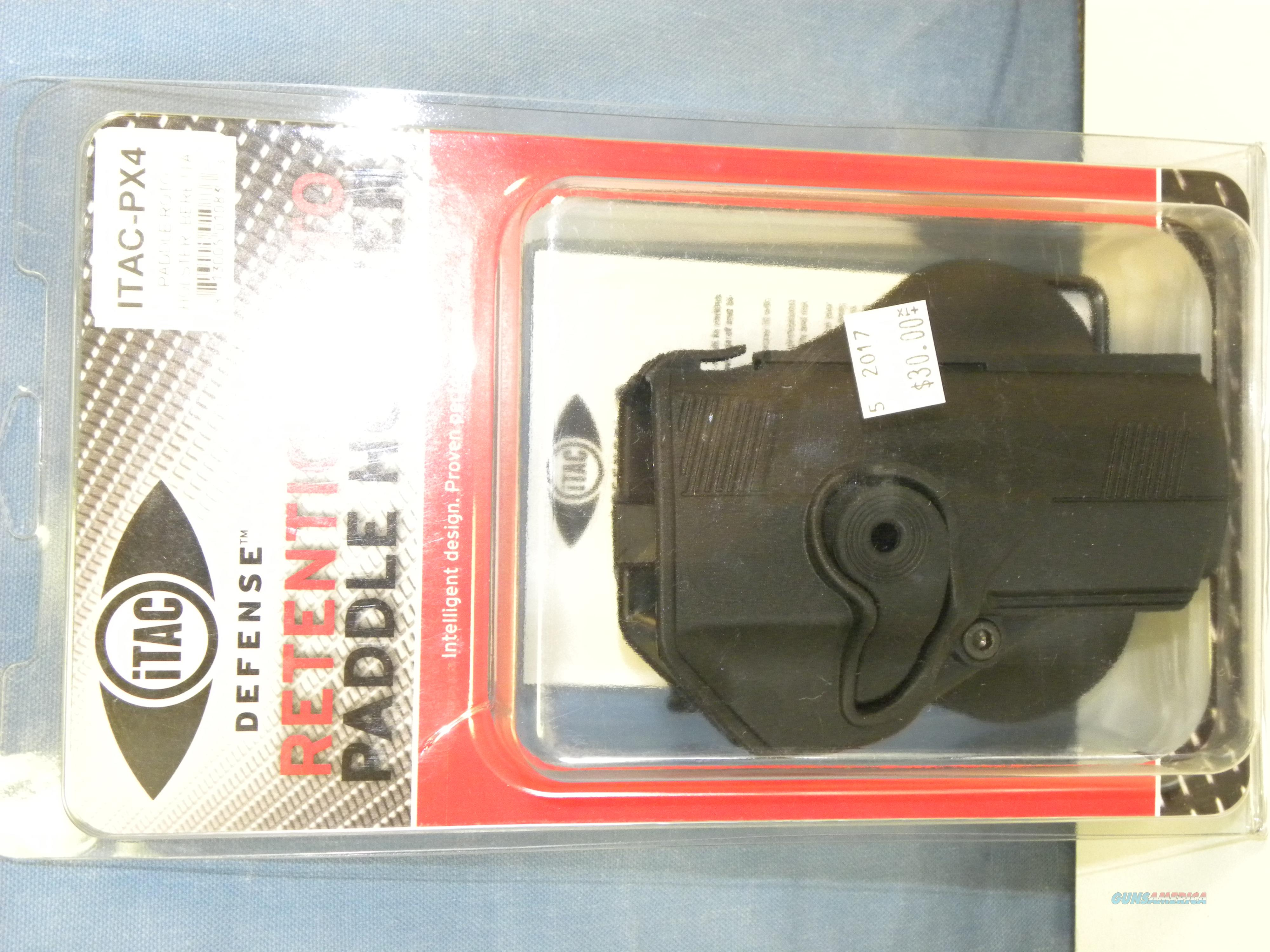 iTAC Beretta PX4 Paddle Retention Roto Holster  Non-Guns > Holsters and Gunleather > Large Frame Auto