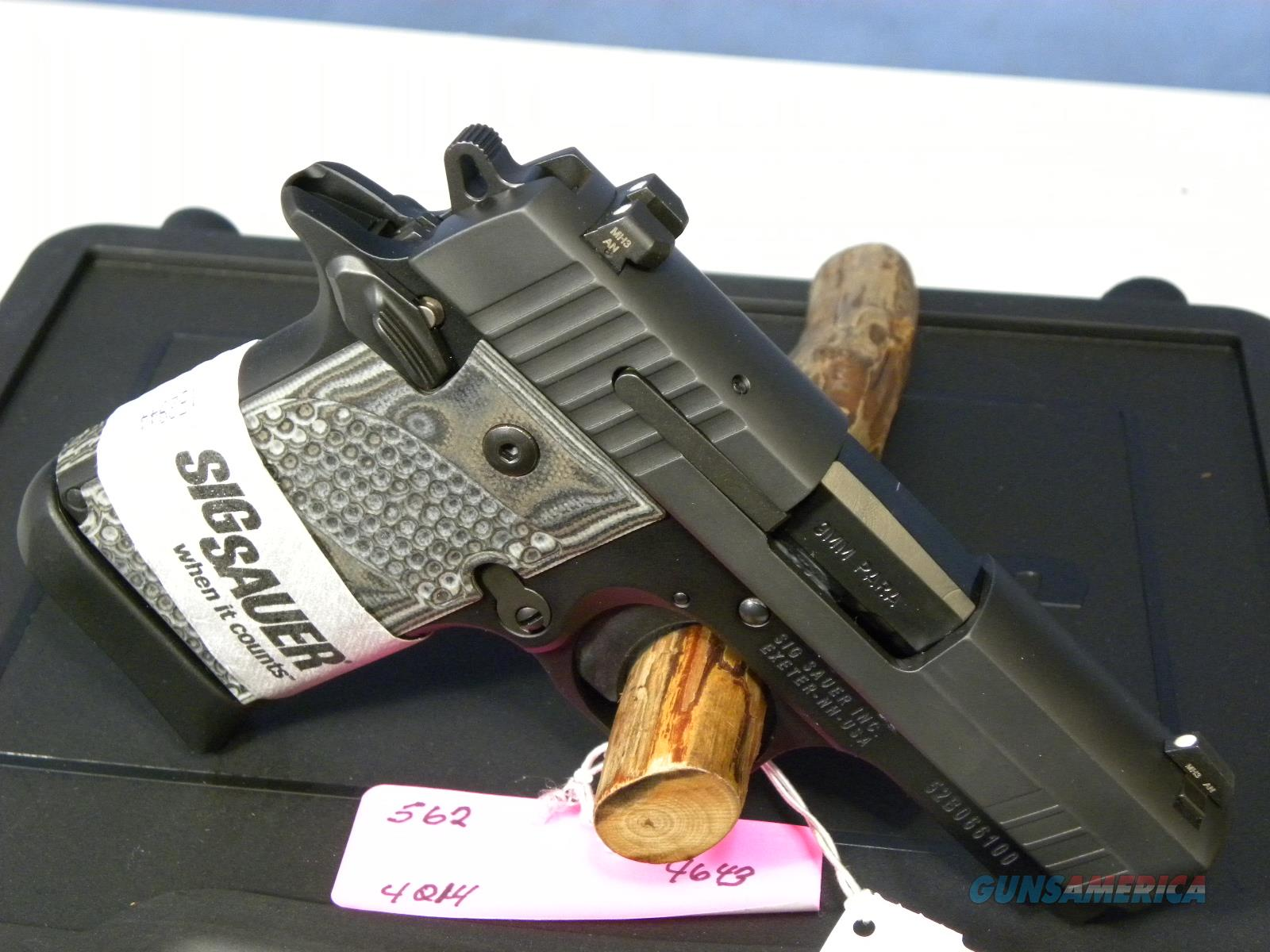 Sig Sauer 938-9 Extreme Black/Gray  Guns > Pistols > Sig - Sauer/Sigarms Pistols > Other