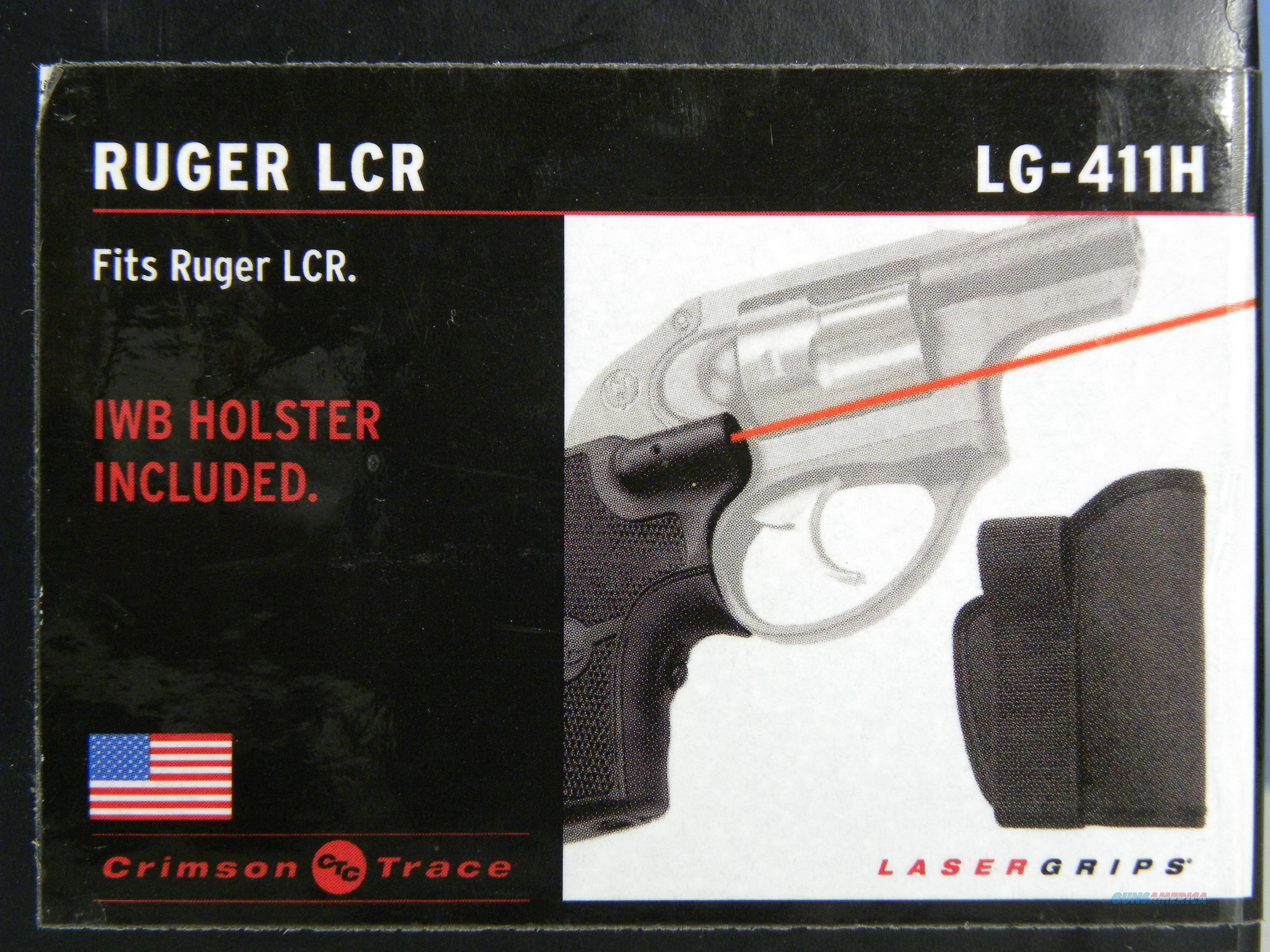 Crimson Trace Ruger LCR w/ IWB Holster  Non-Guns > Gun Parts > Grips > Other