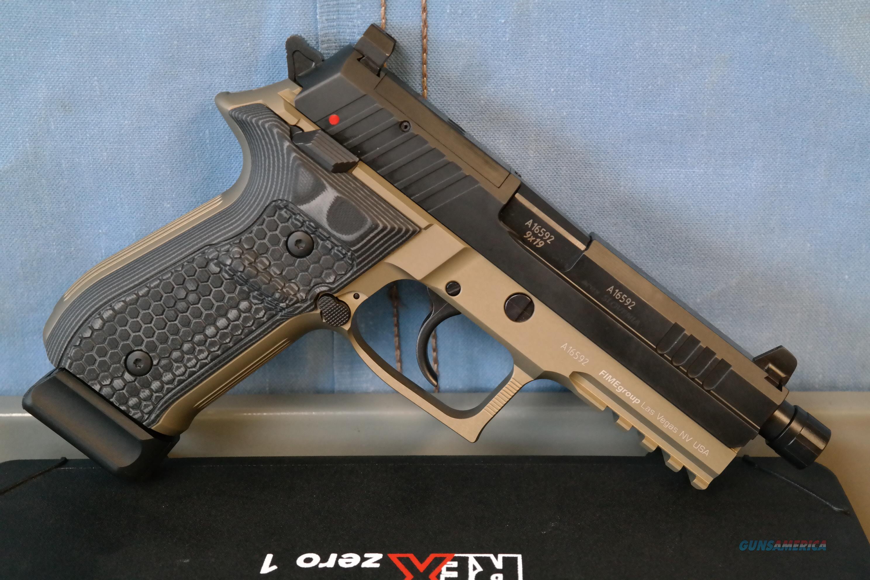 Rex Zero Tactical FDE  Guns > Pistols > FIME Group Pistols > Rex Zero 1